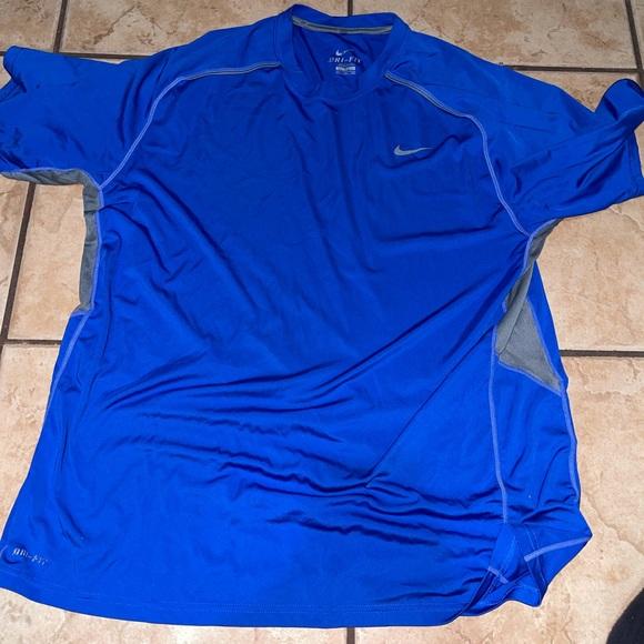 Nike dri fit Blue shirt XXL